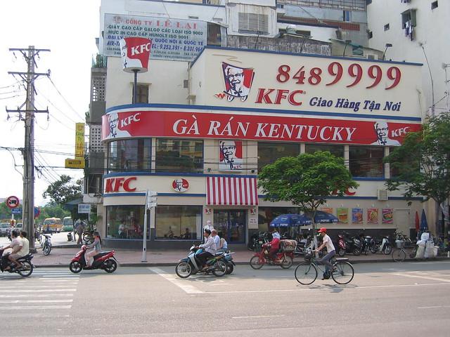 KFC - fast food - Vietnam