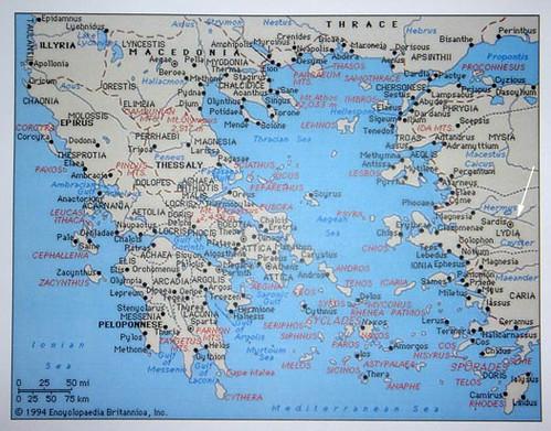 Lydia Map Sardis Greece A Photo On Flickriver