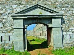 Fort Tourgis Gate -Alderney