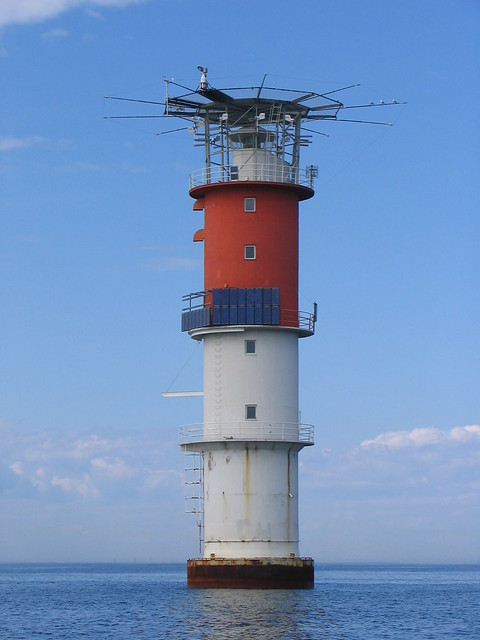 Caisson lighthouse