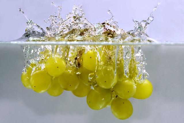 Splashing Grapes