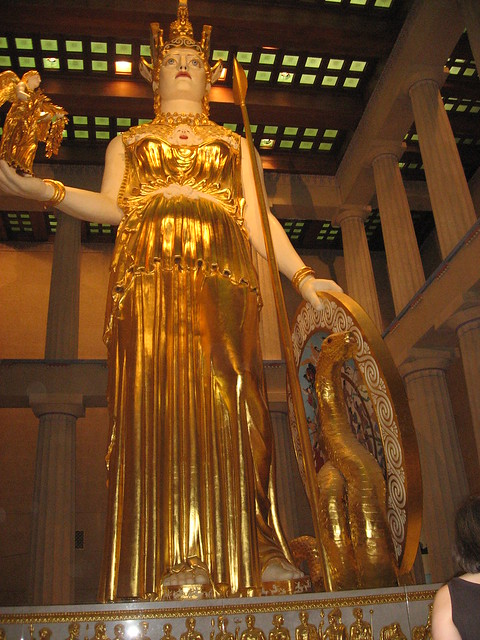 Athena Parthenos Original Statue Of Athena Parthenos - Hot ...