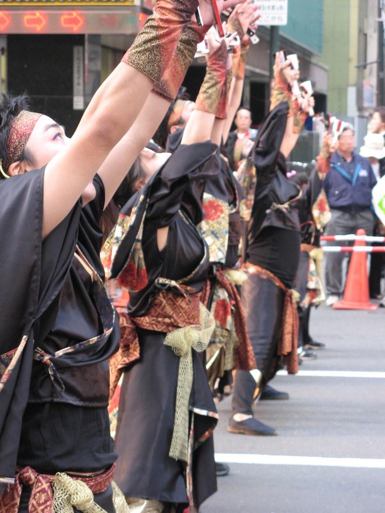 Yosakoi Dancers