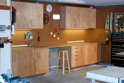 Garage Cabinets Diy Garage Cabinets Workbench
