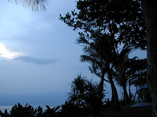 The sky of Brawa Beach