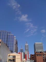 Blue skies...
