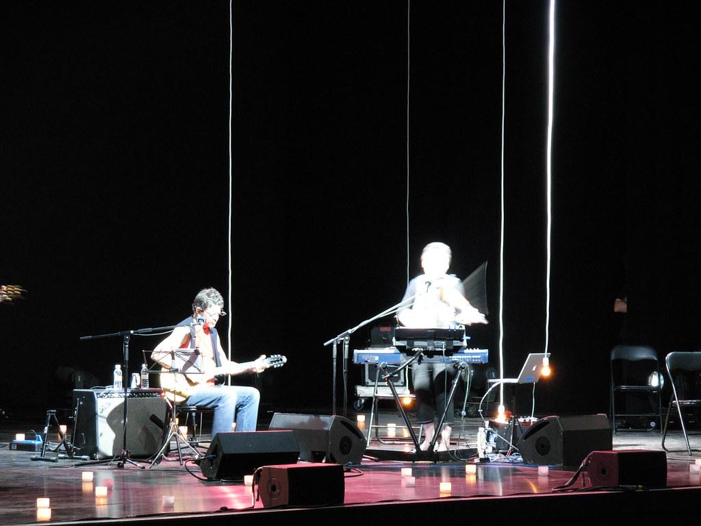 Laurie Anderson Lou Reed Anoche En El Centro Cultural Co