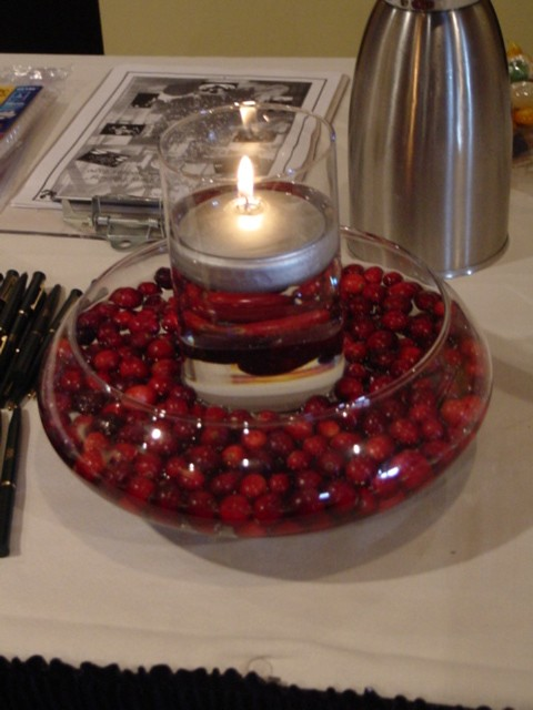 Cranberry centerpiece flickr photo sharing
