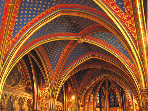 La Sainte-Chapelle, Lower chapel.
