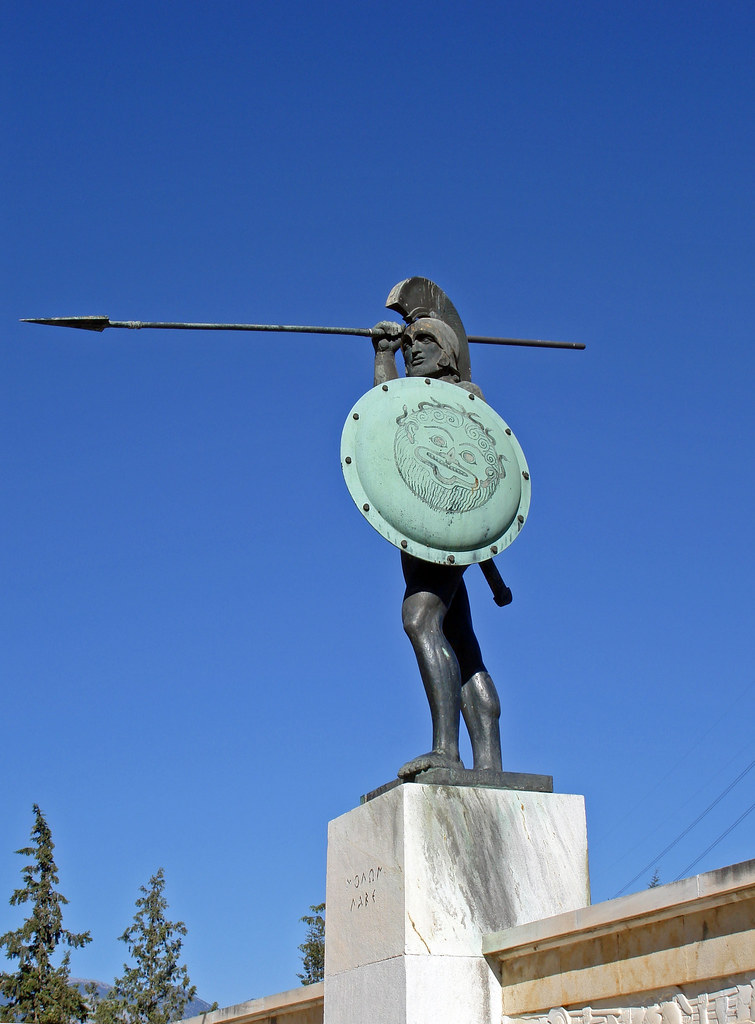 Thermopylae - Monument of Leonidas