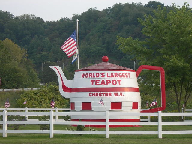 World's Largest Teapot