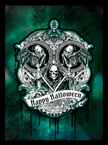 Happy Halloween: Skulls of the Macabre