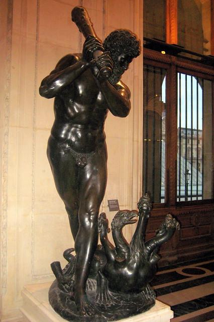 Paris - Musée du Louvre: Hercule combattant l'Hydre ...