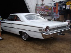 automobile, automotive exterior, vehicle, full-size car, sedan, classic car, ford galaxie, land vehicle,