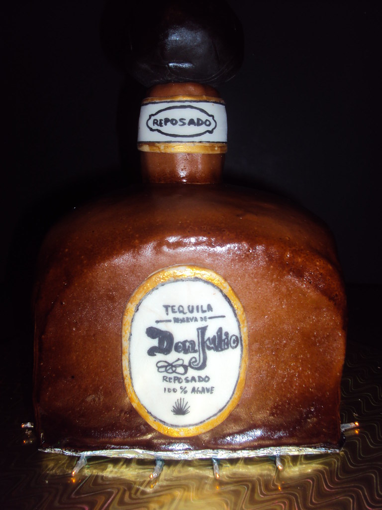 DON JULIO BOTTLE CAKE