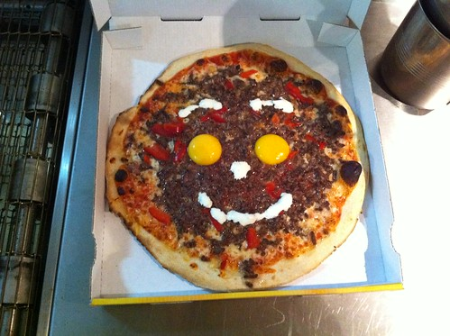 Happy pizza ! ;-)