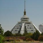 Ashgabat Architecture, Five Legs - Ashgabat, Turkmenistan