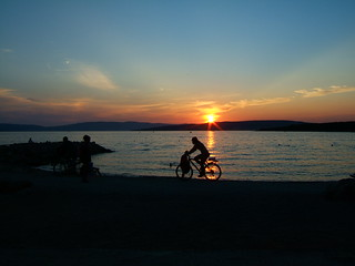 Sunset Punat, Croatia