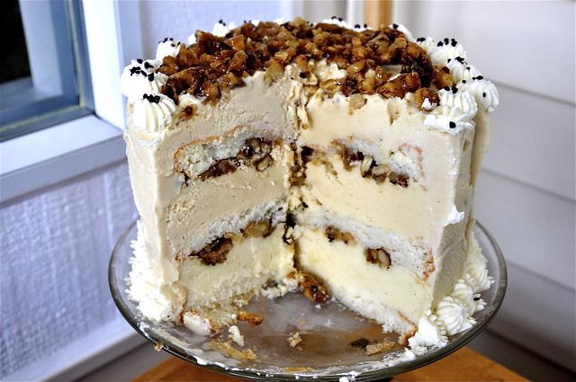 Maple Walnut Ice Cream Cake | Flickr - Photo Sharing!
