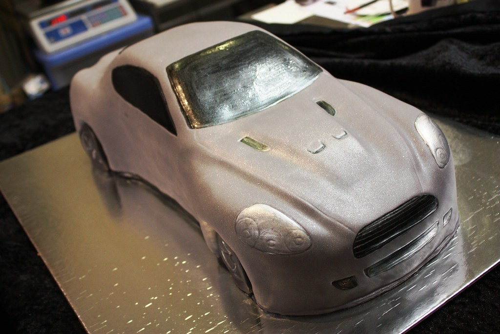 Aston Martin Cake Gray A Photo On Flickriver