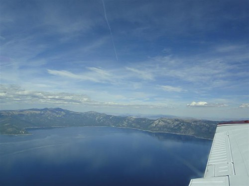 Lake Tahoe from the Plane