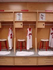 University of Hartford - Men's and Women's Basketball Wood Lockers 7