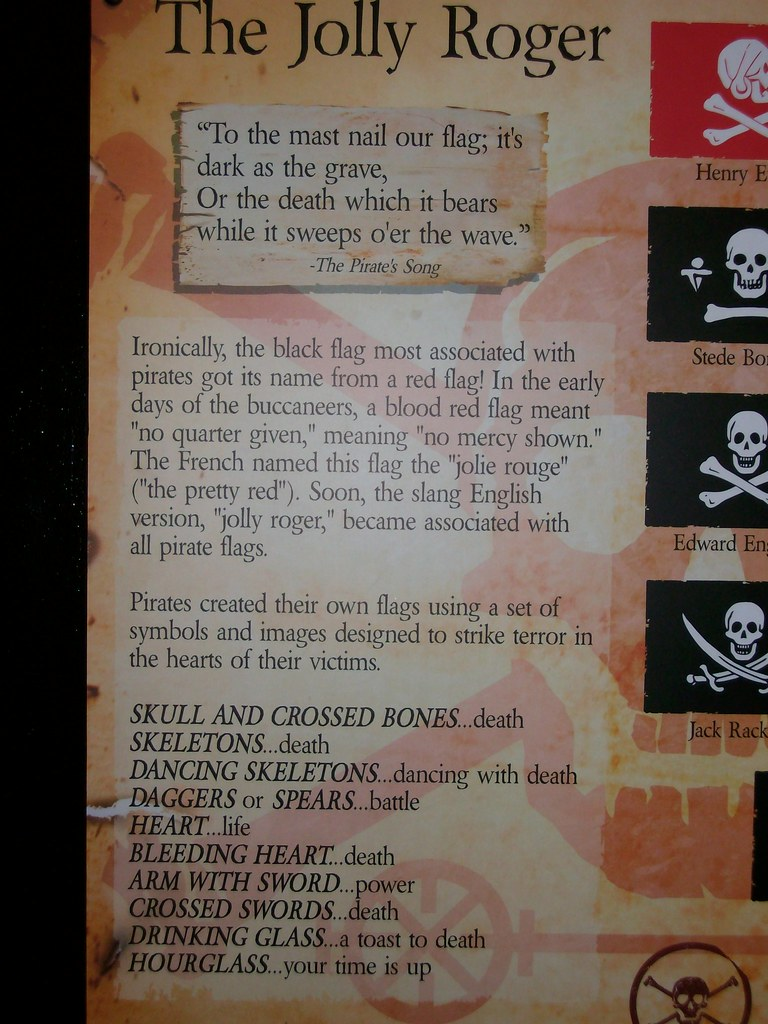 The Jolly Roger   History of the Jolly Roger and meaning of …   Flickr
