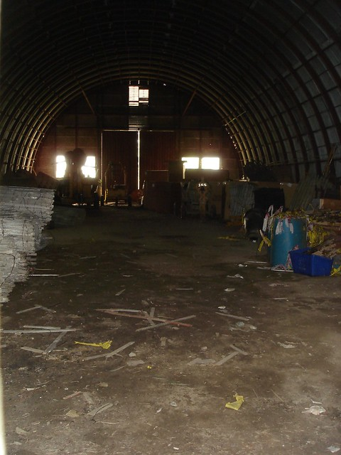 Inside the Quonset Hut