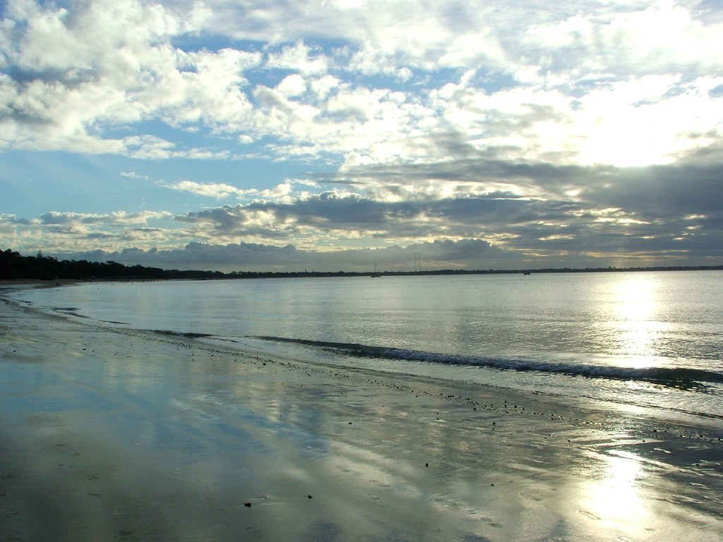 Elevation Of Hervey Bay Qld  Australia