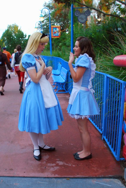 Alice And Wonderland Blue Dress