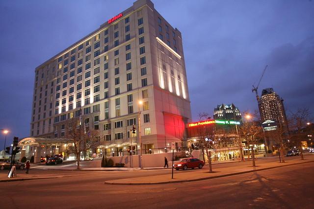 Hilton Providence Hotel Exterior Flickr Photo Sharing
