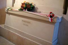 Paris - Latin Quarter: Panthéon - La crypte galerie nord - tombe de Pierre Curie