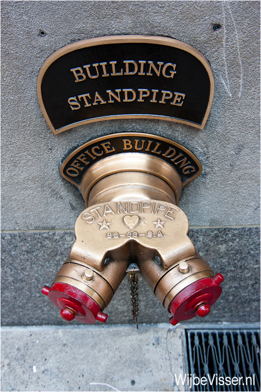 Typical Standpipe Connection
