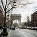 Washington Square Arch, New York City.  March 2001 by Jim Linwood