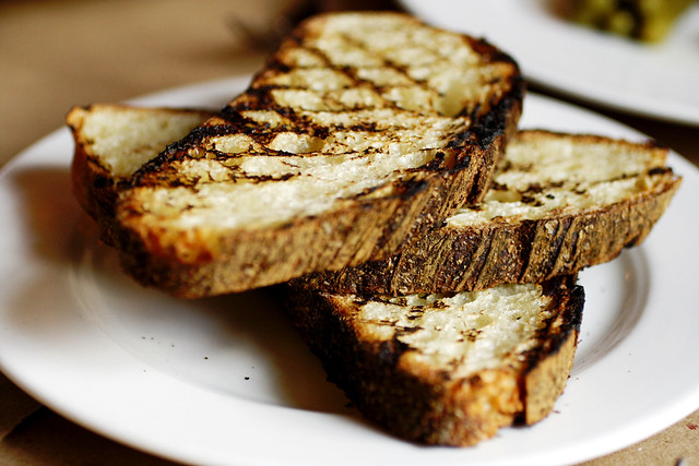grilled bread, perfecto | The Spotted Pig | By: roboppy | Flickr ...