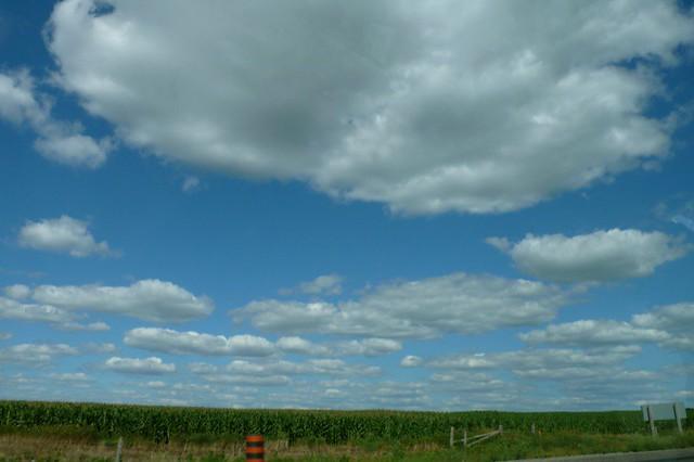 I love Ontario's sky