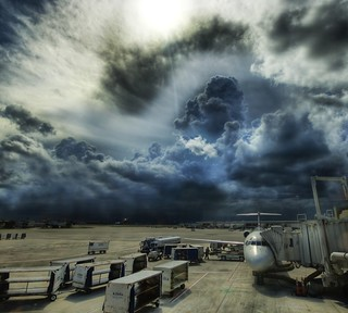 A Storm at the Airport