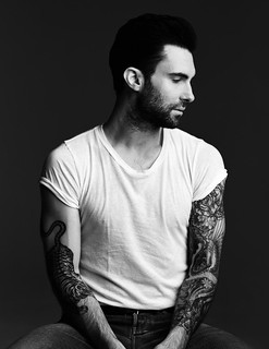 Adam Levine, portrait from 944