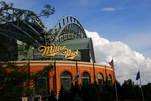 miller park in milwaukee by Alida's Photos