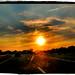 Sunset Road by ArtByChrysti
