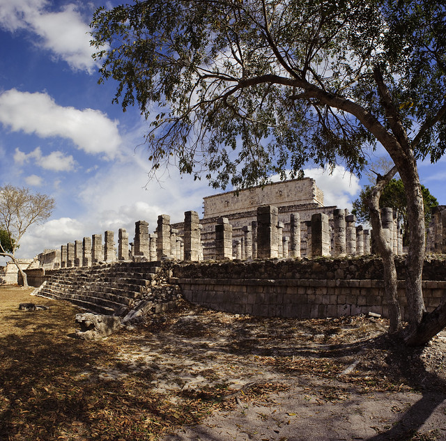 Chichen Itza Temple Panorama