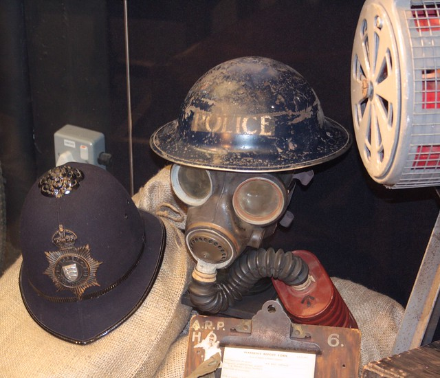 Wartime Policing Display