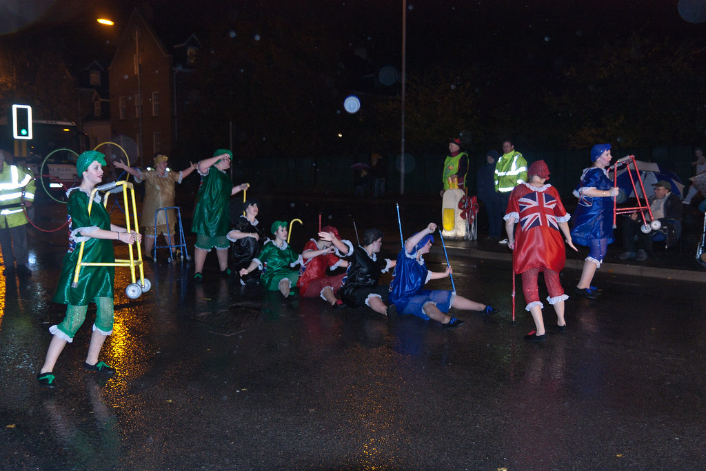 One of the wettest nights of the year...............
