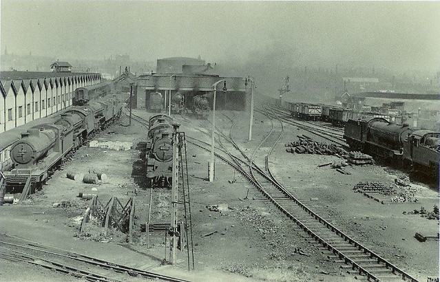 Copley Hill Sheds. Leeds 1961. | Flickr - Photo Sharing!