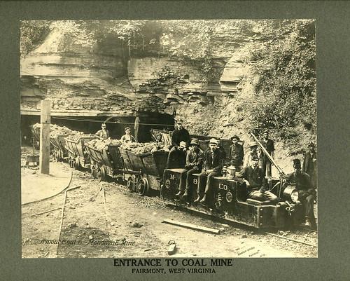 Monongah Coal Mine, Fairmont, West Virginia, about 1900
