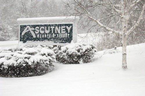 Ascutney, Vermont welcome sign