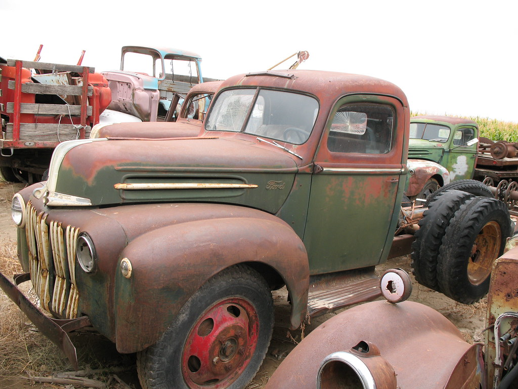 Styleliner51s Most Interesting Flickr Photos Picssr 1951 1952 Ford Dump Trucks 1947 Truck