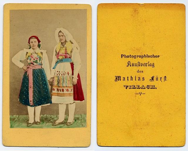 Folk Costume From Villach (Carinthia, Austria)