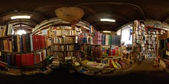 The cavern with books