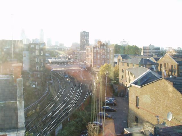 View on Whitechapel Underground Station